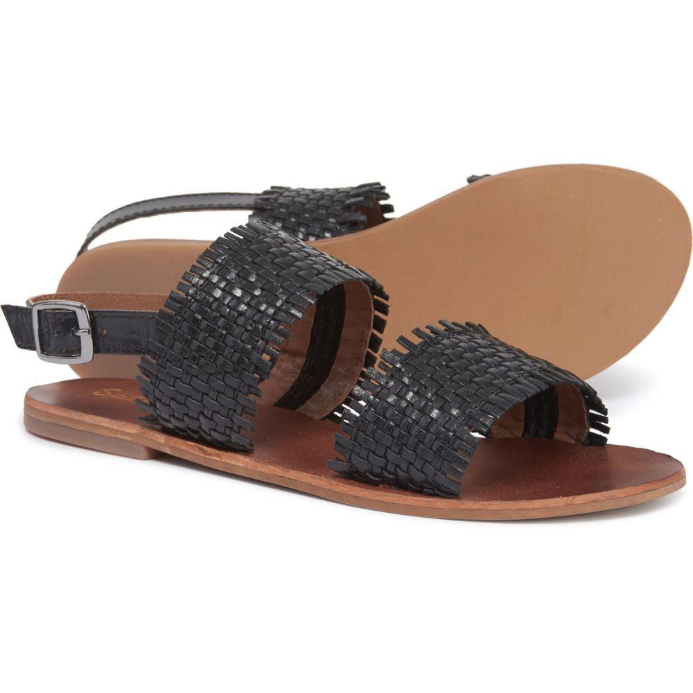 スプレンディッド Splendid レディース シューズ・靴 サンダル・ミュール【Thomas Sandals - Leather】Black Leather
