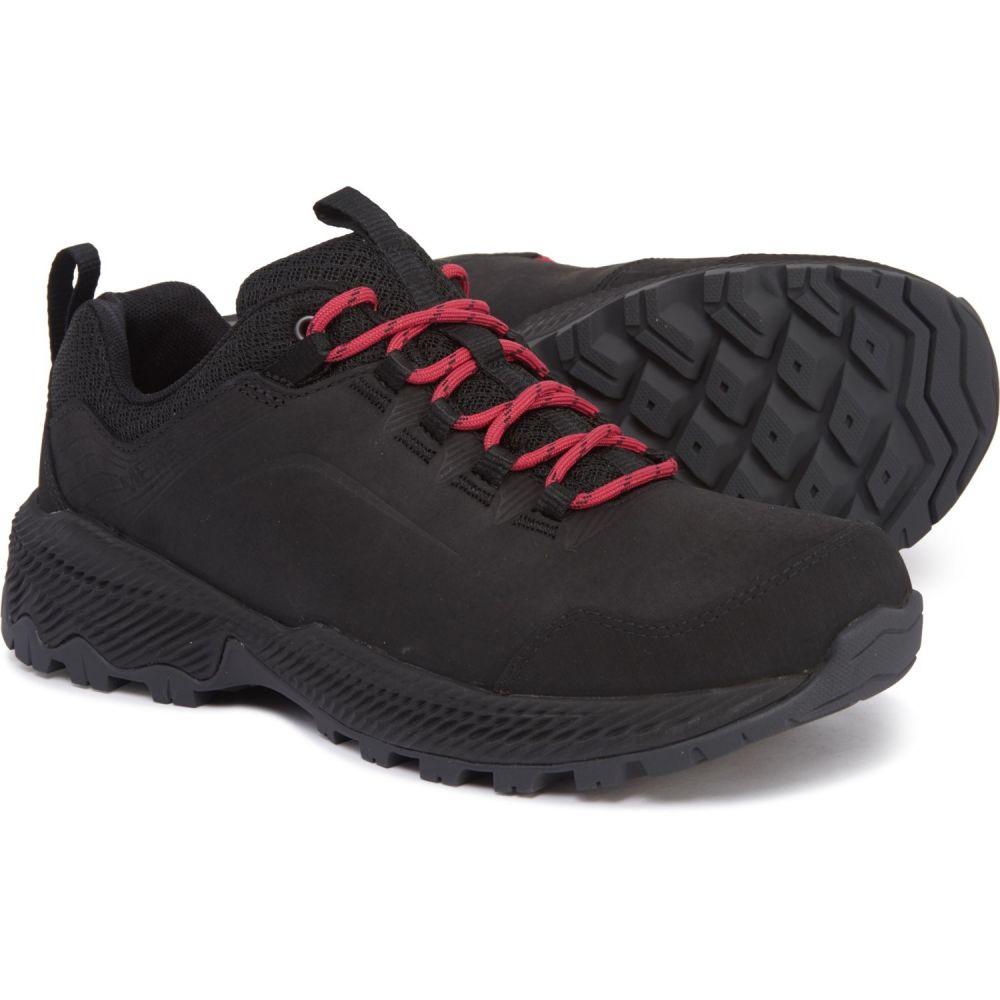 メレル Merrell レディース ハイキング・登山 シューズ・靴【Forestbound Hiking Shoes - Waterproof】Black