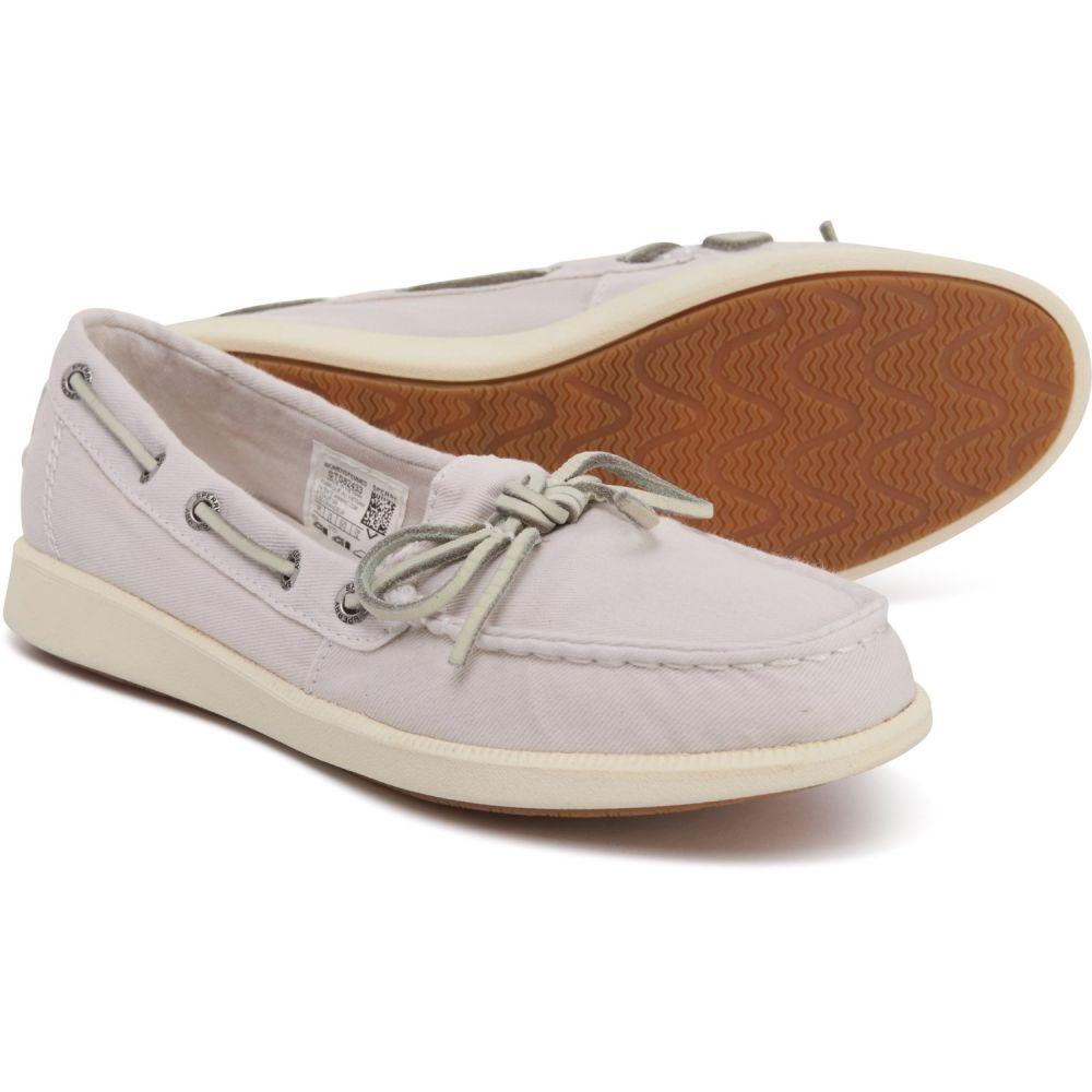 スペリー Sperry レディース シューズ・靴 スリッポン・フラット【Ivory Oasis Canal Canvas Boat Shoes】Ivory