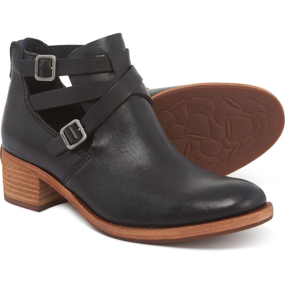 コークイーズ Kork-Ease レディース シューズ・靴 ブーツ【Jardin Booties - Leather】Black