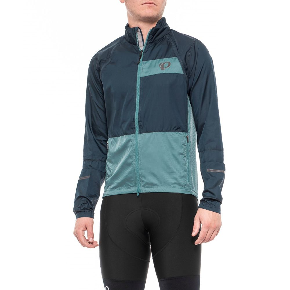 パールイズミ Pearl Izumi メンズ 自転車 アウター【ELITE Escape Convertible Cycling Jacket】Midnight Navy/Arctic