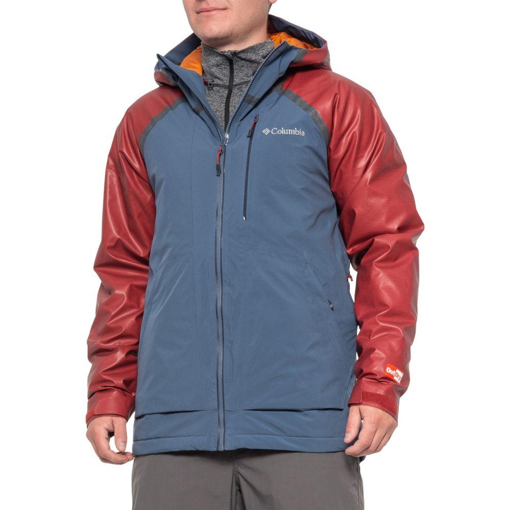 コロンビア Columbia Sportswear メンズ アウター ジャケット【OutDry Glacial Hybrid Omni-Heat Jacket - Waterproof, Insulated】Red Element Heather