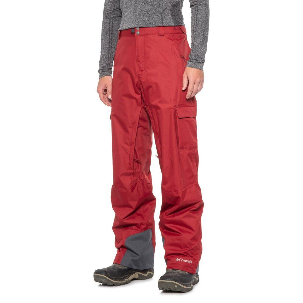 コロンビア Columbia Sportswear メンズ スキー・スノーボード ボトムス・パンツ【Ridge 2 Run II Omni-Heat Omni-Tech Ski Pants - Waterproof, Insulated】Red Element