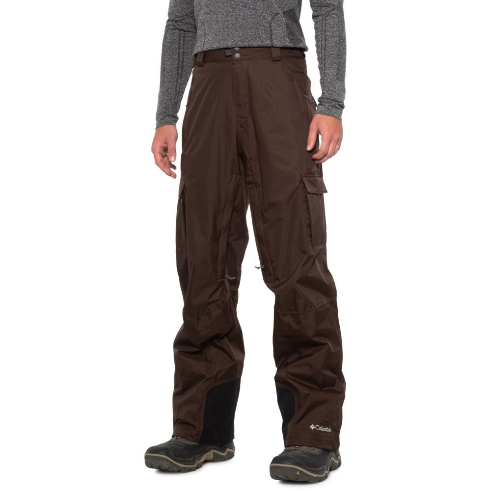 コロンビア Columbia Sportswear メンズ スキー・スノーボード ボトムス・パンツ【Ridge 2 Run II Omni-Heat Omni-Tech Ski Pants - Waterproof, Insulated】Bark