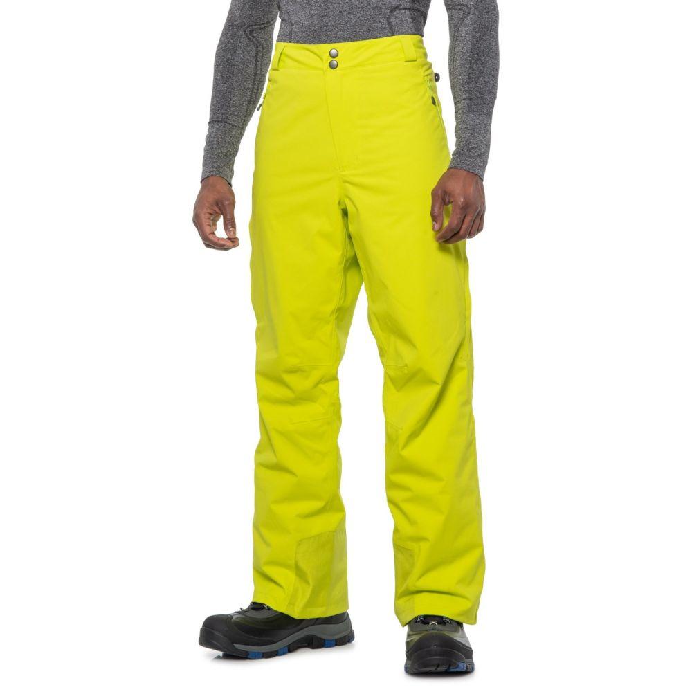マムート Mammut メンズ ボトムス・パンツ【Andalo Hard Shell Pants - Waterproof, Insulated】Canary