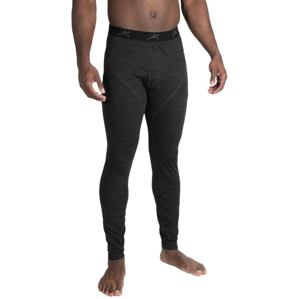 テラマール Terramar メンズ インナー・下着 タイツ・スパッツ【Thermawool ClimaSense 4.0 Base Layer Pants - Merino Wool Blend, UPF 50+】Smoke Heather