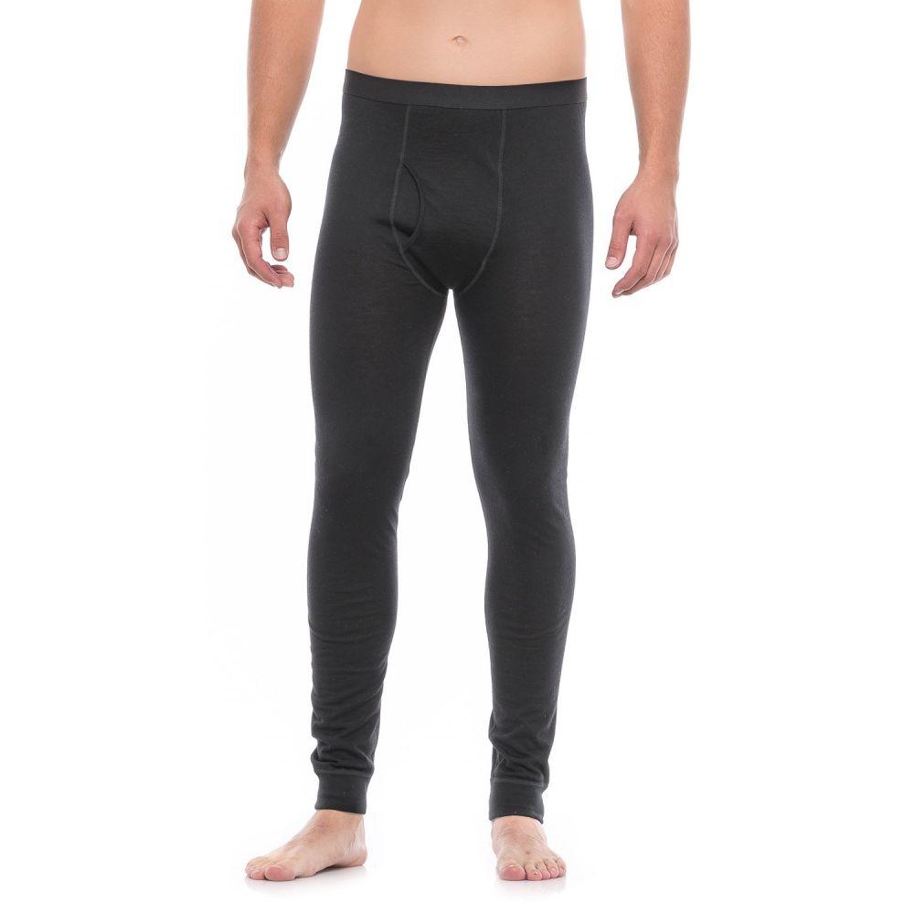 テラマール Terramar メンズ インナー・下着 タイツ・スパッツ【Thermawool Merino Woolskins Base Layer Pants - Midweight】Black