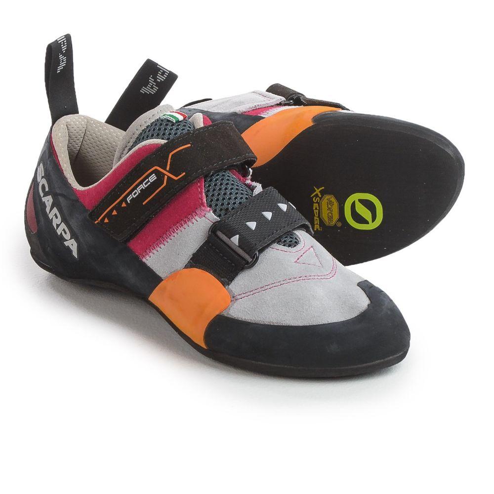 スカルパ Scarpa メンズ クライミング シューズ・靴【Made in Italy Force X Climbing Shoes - Suede】Lip Gloss