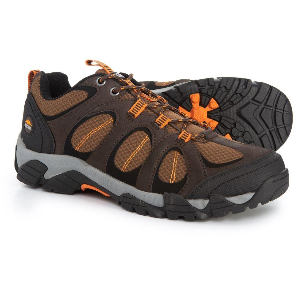 パシフィックトレイル Pacific Trail メンズ ハイキング・登山 シューズ・靴【Logan Hiking Shoes】Chocolate/Burnt Orange