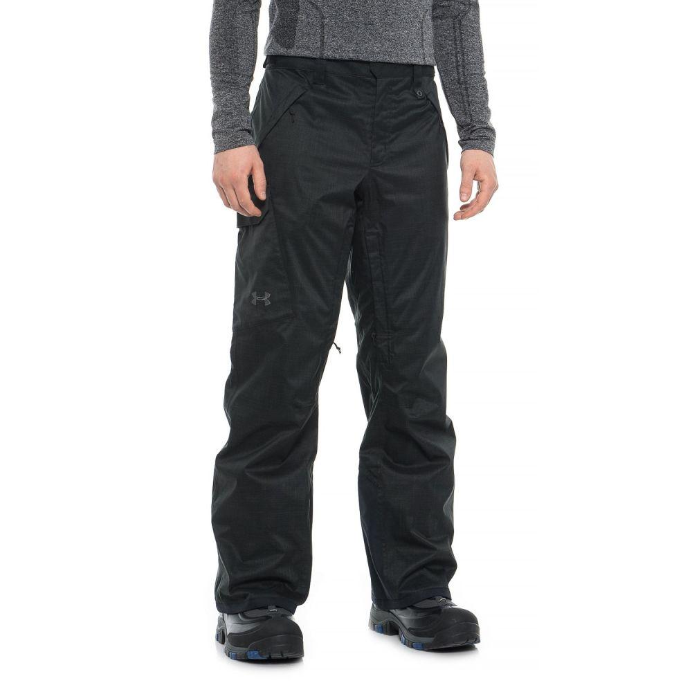 アンダーアーマー Under Armour メンズ スキー・スノーボード ボトムス・パンツ【Navigate PrimaLoft Ski Pants - Waterproof, Insulated】Black