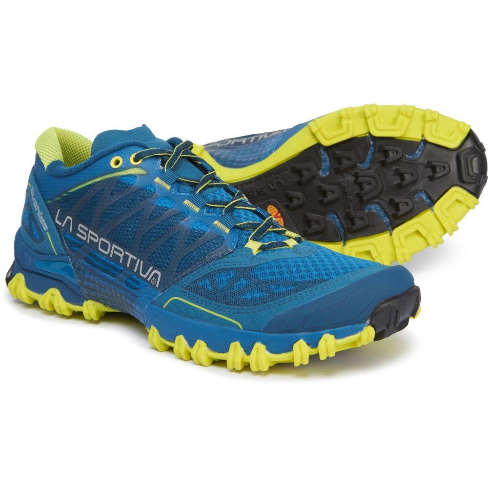 ラスポルティバ La Sportiva メンズ ランニング・ウォーキング シューズ・靴【Bushido Trail Running Shoes】Ocean/Sulphur