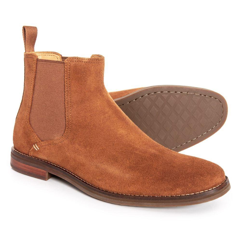 スペリー Sperry メンズ シューズ・靴 ブーツ【Gold Cup Exeter Chelsea Boots - Suede】Caramel