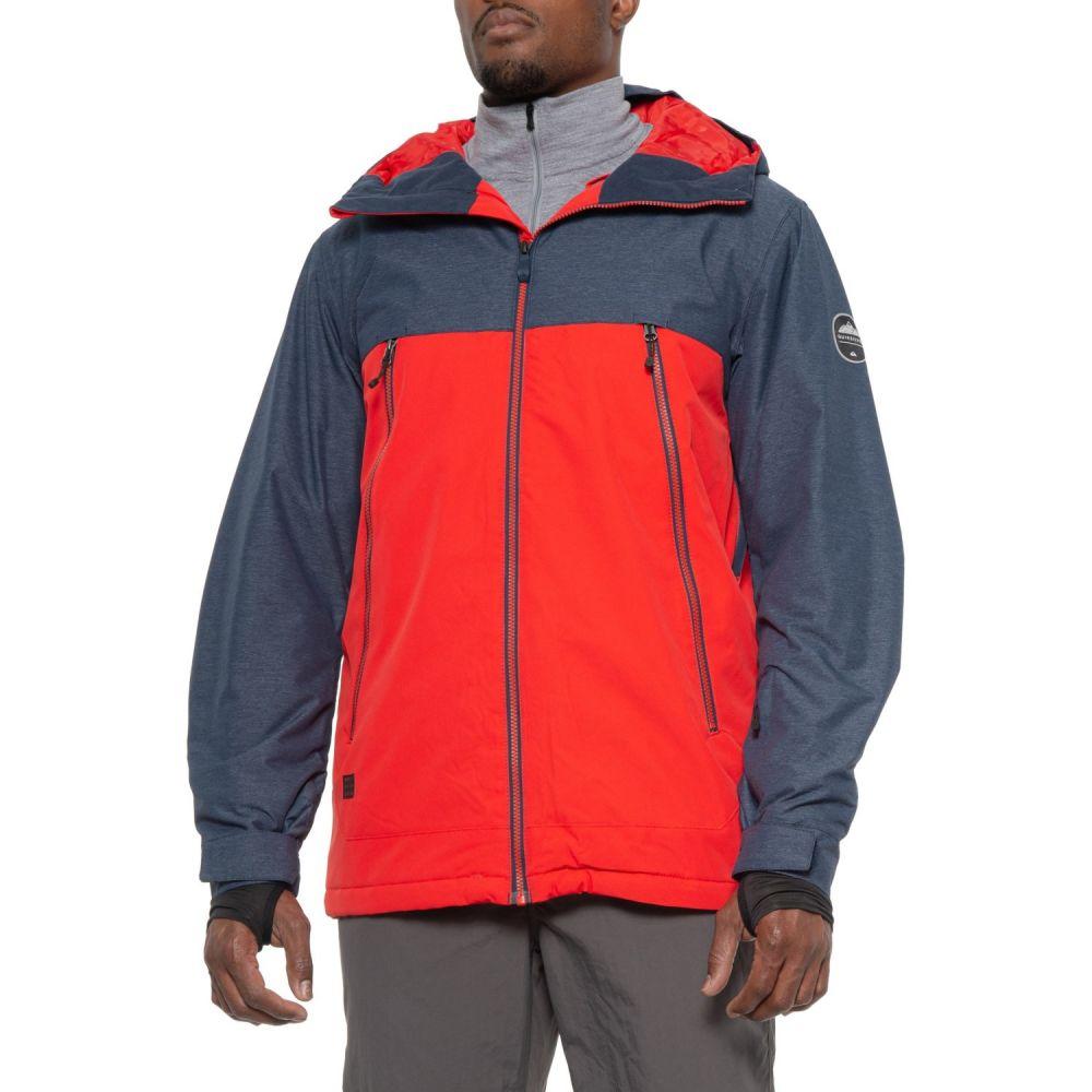 クイックシルバー Quiksilver メンズ スキー・スノーボード アウター【Sierra Snowboard Jacket - Waterproof, Insulated】Flame