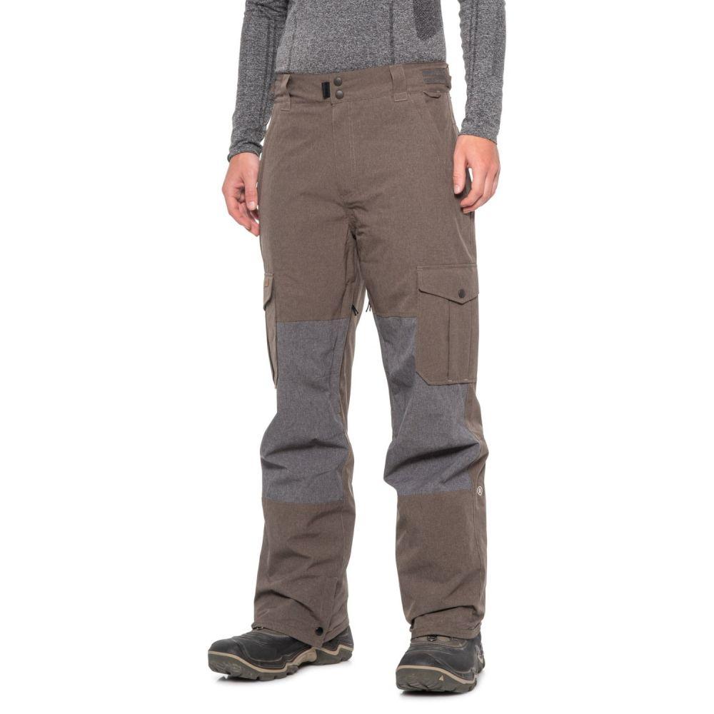 ライド Ride メンズ スキー・スノーボード ボトムス・パンツ【Phinney Shell Snowboard Pants - Waterproof】Brown Melange