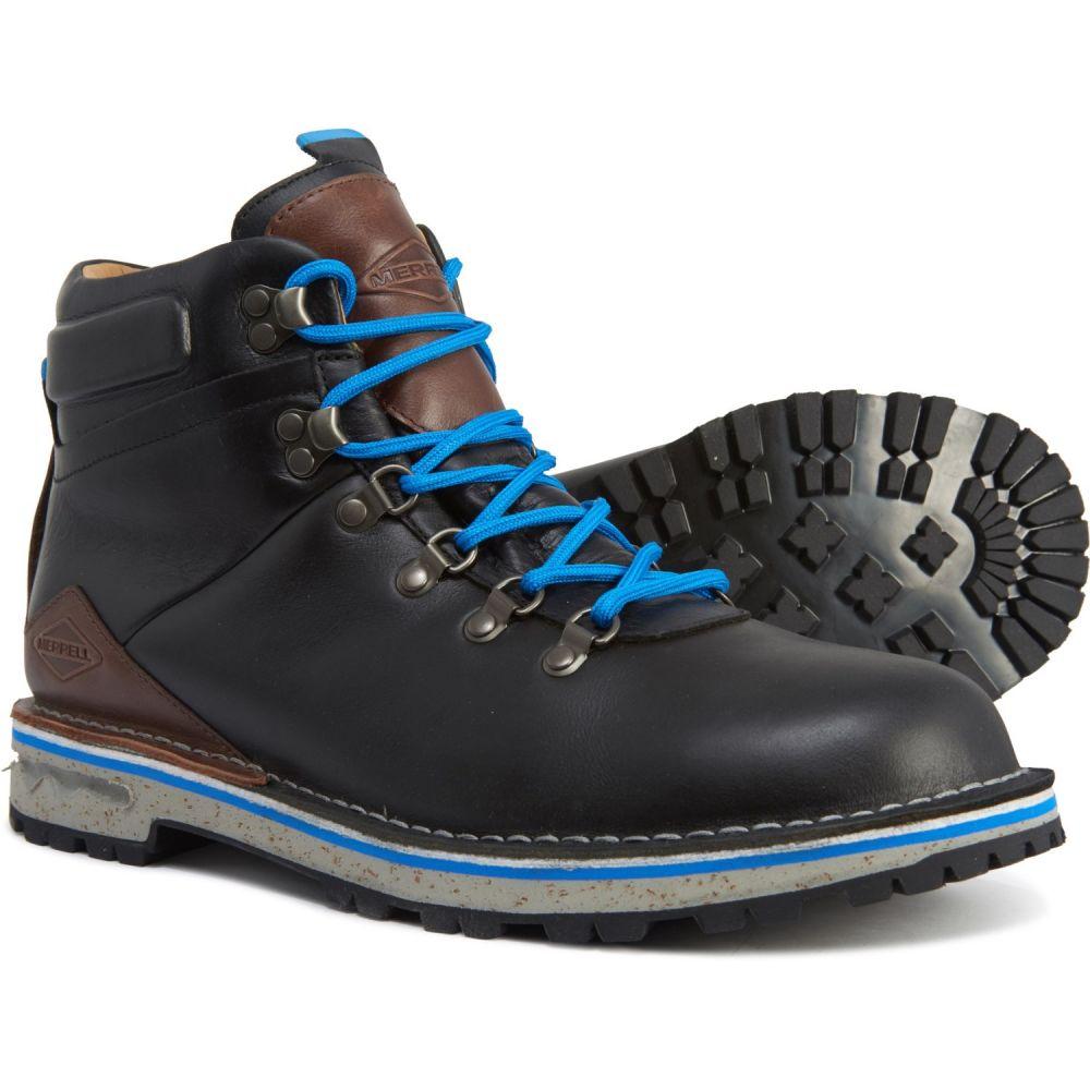 メレル Merrell メンズ ハイキング・登山 シューズ・靴【Sugarbush Hiking Boots - Waterproof, Leather】Black