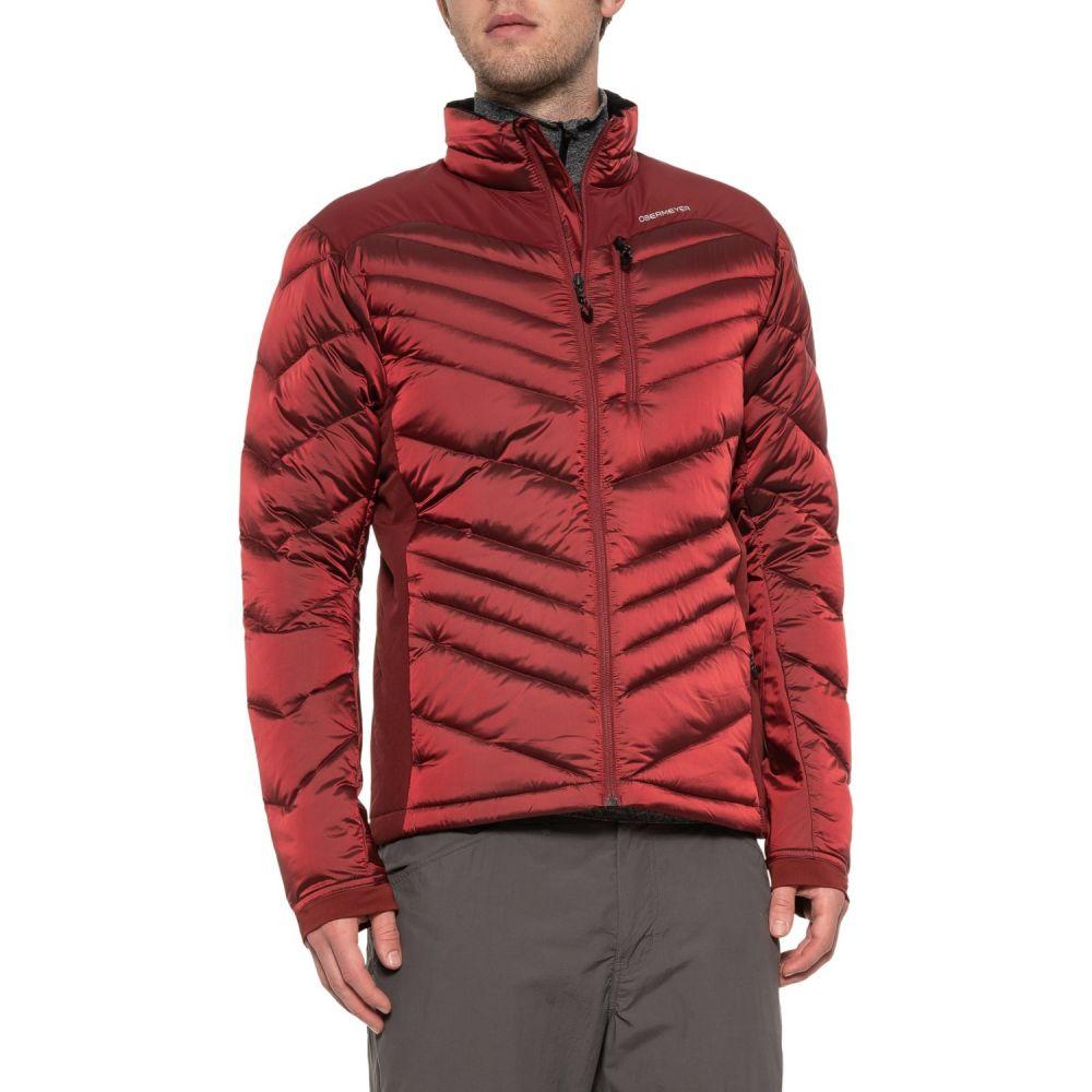 オバマイヤー Obermeyer メンズ スキー・スノーボード アウター【Ion Stretch Down Ski Jacket - Insulated】Major Red