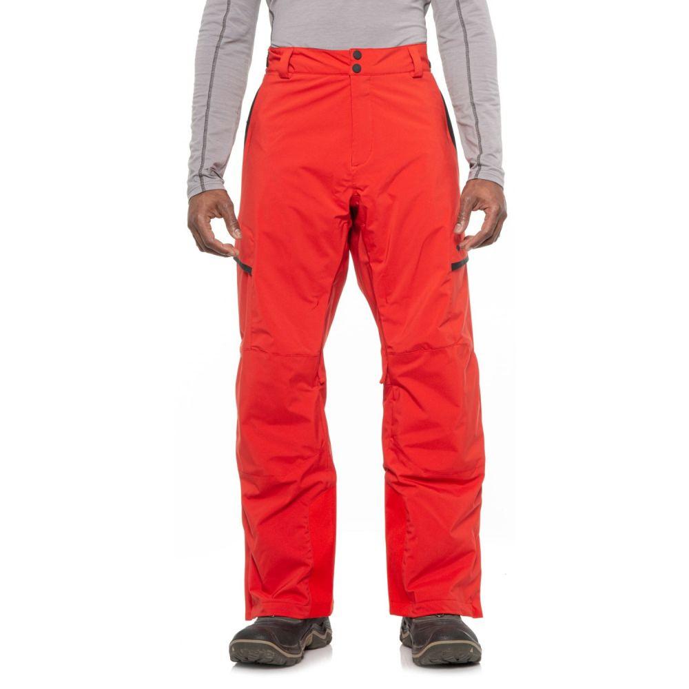 オバマイヤー Obermeyer メンズ スキー・スノーボード ボトムス・パンツ【Orion Ski Pants - Waterproof, Insulated】Volcanic Red