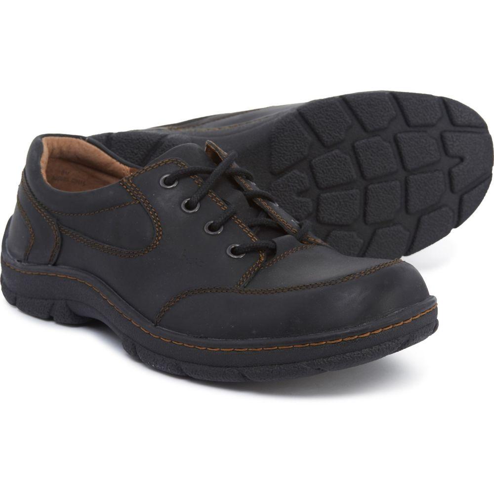 ビーオーシー b.o.c メンズ シューズ・靴 革靴・ビジネスシューズ【Kirby Leather Oxford Shoes】Black