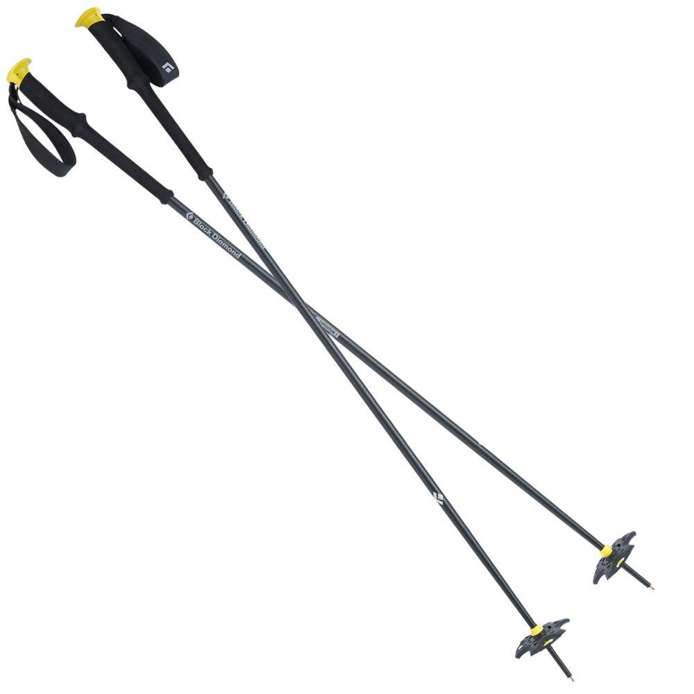 ブラックダイヤモンド イクイップメント Black Diamond Equipment ユニセックス スキー・スノーボード【Expedition 1 Fixed Length Ski Poles】Blazing Yellow
