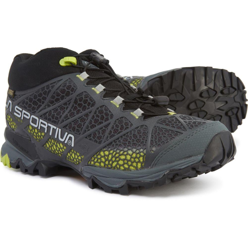 ラスポルティバ La Sportiva メンズ ハイキング・登山 シューズ・靴【Synthesis Mid Gore-Tex Hiking Boots - Waterproof】Grey/Green