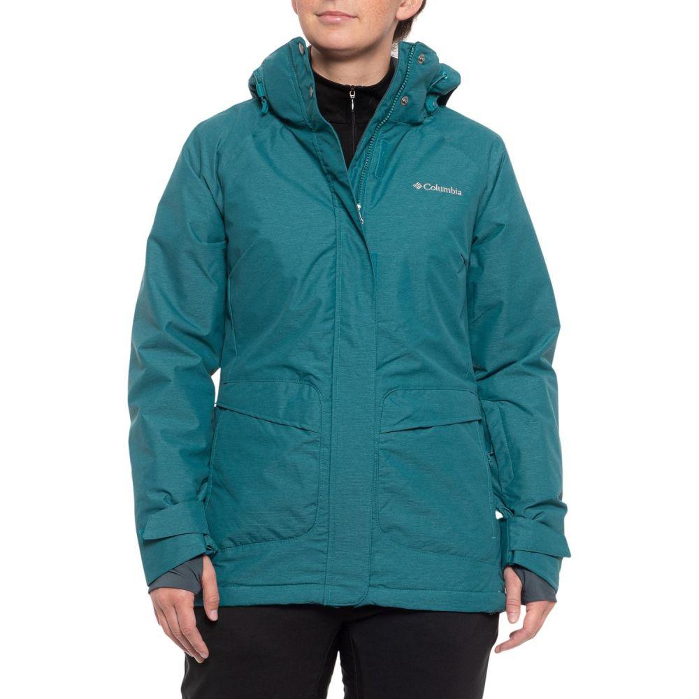 コロンビア Columbia Sportswear レディース スキー・スノーボード アウター【Starr Pass Omni-Heat Hooded Ski Jacket - Waterproof, Insulated】Aegean Blue