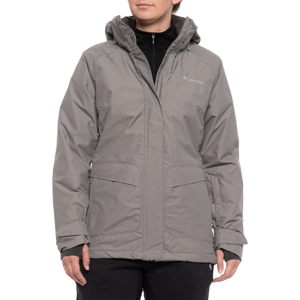 コロンビア Columbia Sportswear レディース スキー・スノーボード アウター【Starr Pass Omni-Heat Hooded Ski Jacket - Waterproof, Insulated】Boulder