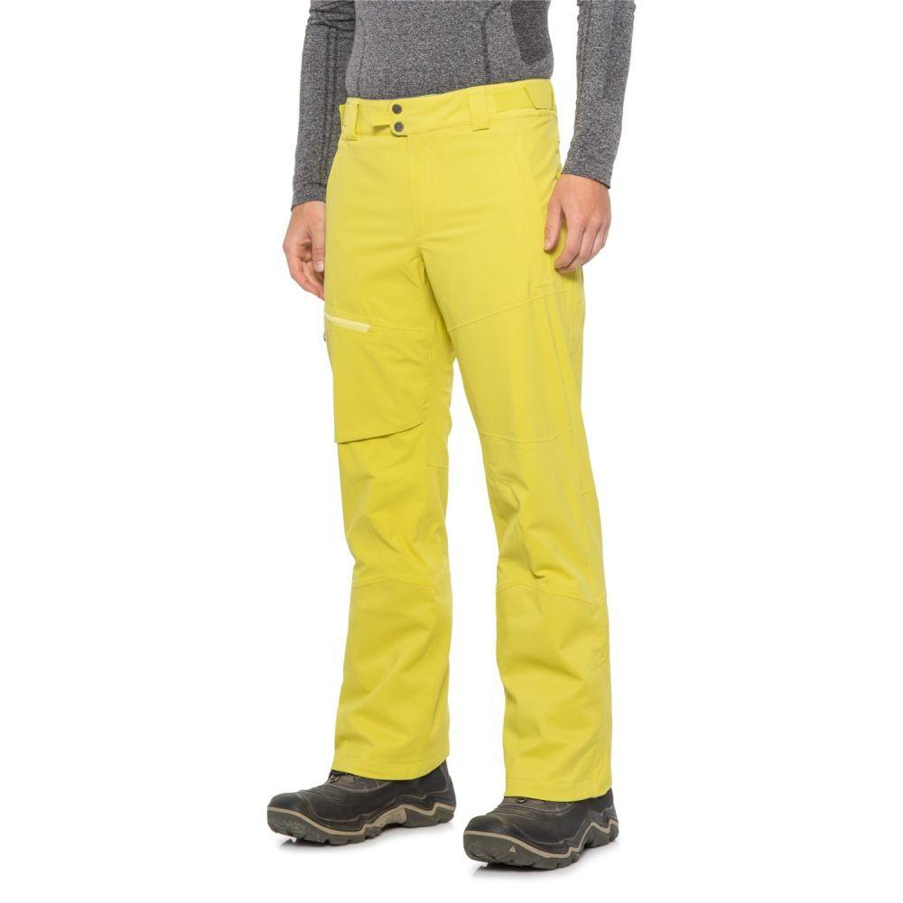 コロンビア Columbia Sportswear メンズ スキー・スノーボード ボトムス・パンツ【Powder Keg Ski Omni-Heat, Omni-Tech Pants - Waterproof, Insulated】Acid Yellow