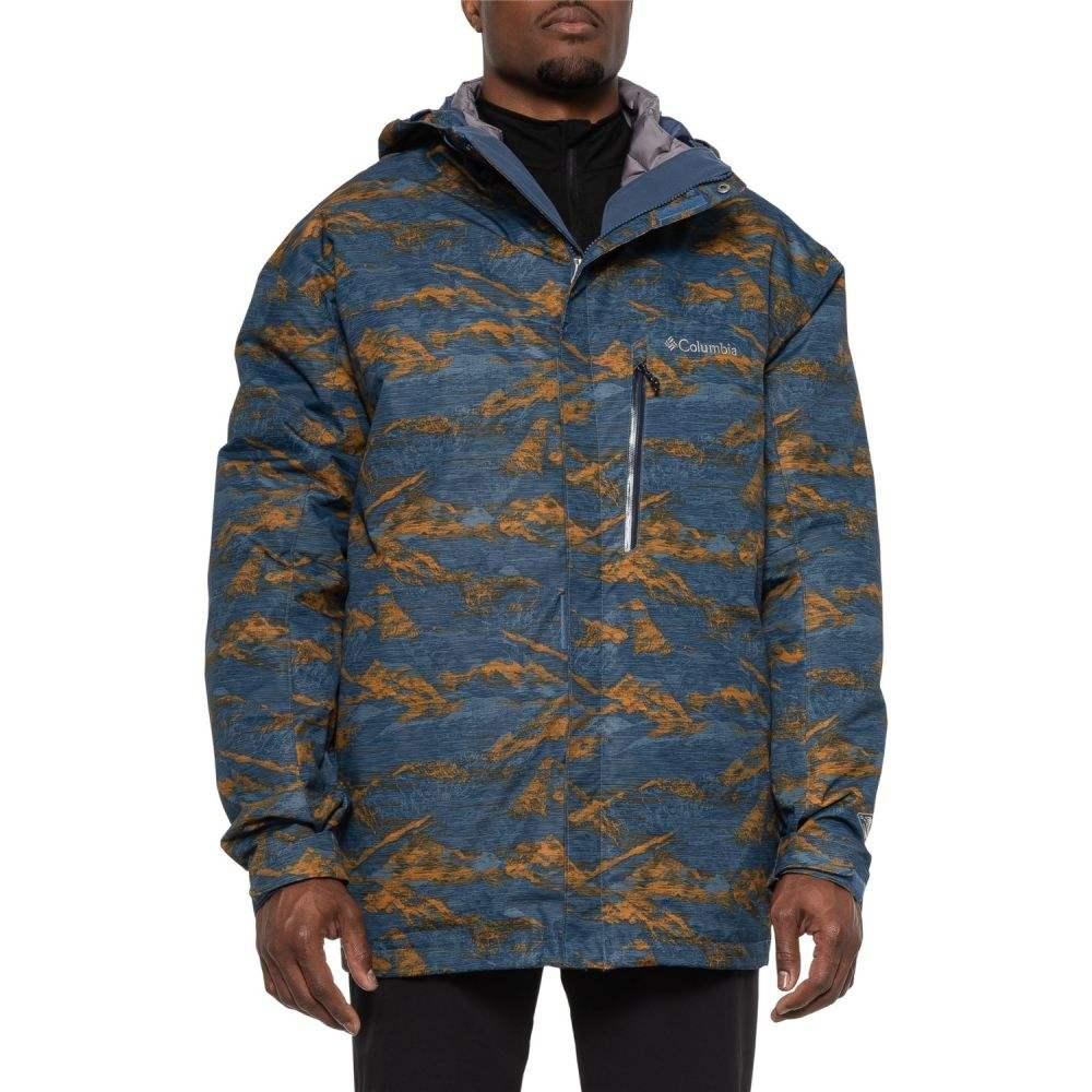 コロンビア Columbia Sportswear メンズ アウター ジャケット【Whirlibird III Interchange Jacket - Waterproof, Insulated, 3-in-1】Canyon Gold Mountain