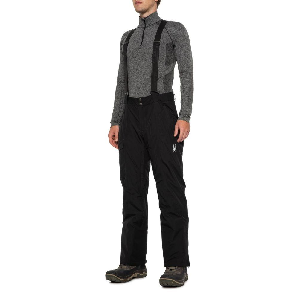 スパイダー Spyder メンズ スキー・スノーボード ボトムス・パンツ【Sentinel Regular Gore-Tex Ski Pants - Waterproof, Insulated】Black/Black