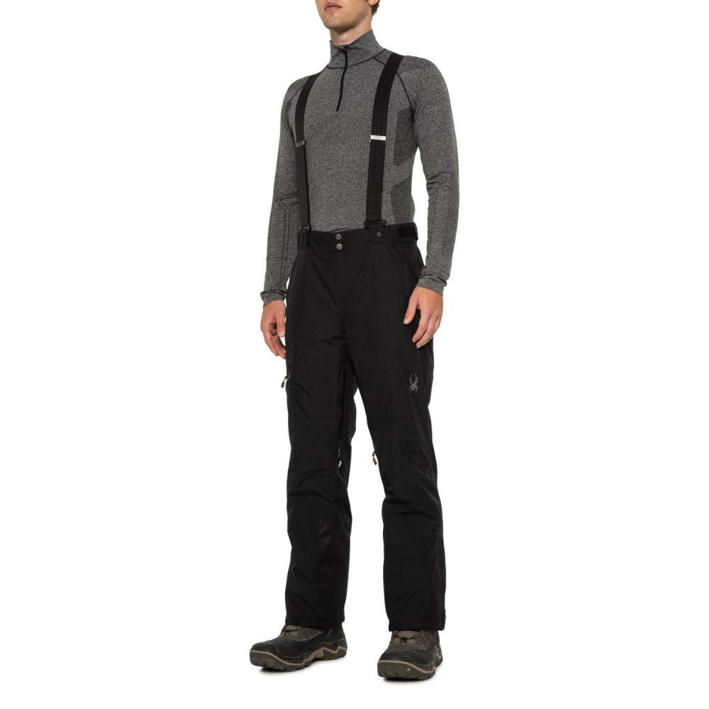 スパイダー Spyder メンズ スキー・スノーボード ボトムス・パンツ【Dare Gore-Tex Regular Ski Pants - Waterproof, Insulated】Black/Black