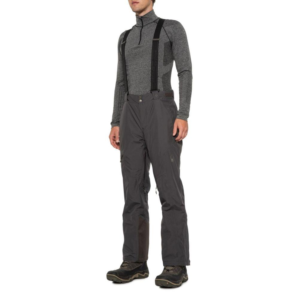 スパイダー Spyder メンズ スキー・スノーボード ボトムス・パンツ【Dare Gore-Tex Regular Ski Pants - Waterproof, Insulated】Polar/Polar