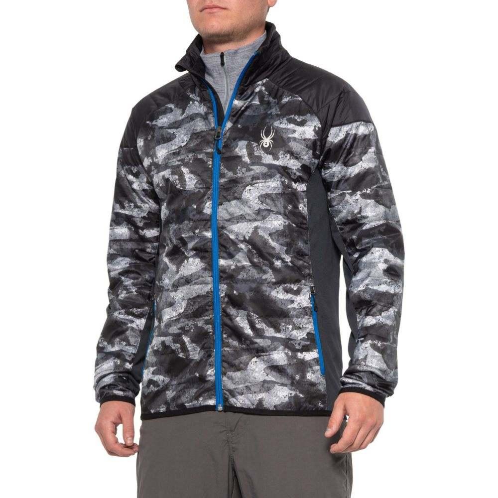 スパイダー Spyder メンズ スキー・スノーボード アウター【Glissade PrimaLoft Insulator Ski Jacket - Insulated】Camo Distress Print/Black/Turkish Sea