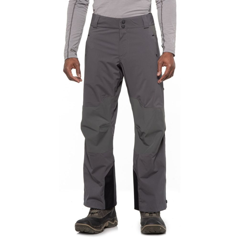 オバマイヤー Obermeyer メンズ スキー・スノーボード ボトムス・パンツ【Process PrimaLoft Ski Pants - Waterproof, Insulated】Grey Matter