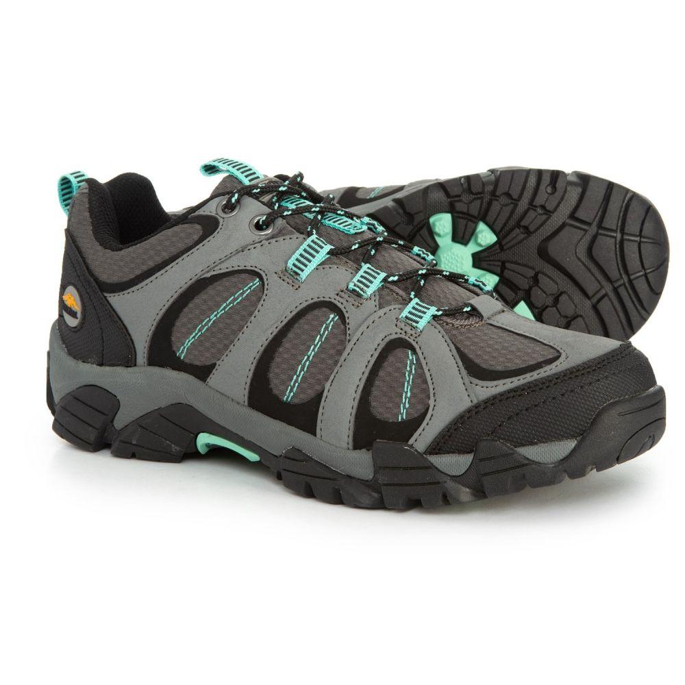 パシフィックトレイル Pacific Trail レディース ハイキング・登山 シューズ・靴【Logan Hiking Shoes】Gray/Mint
