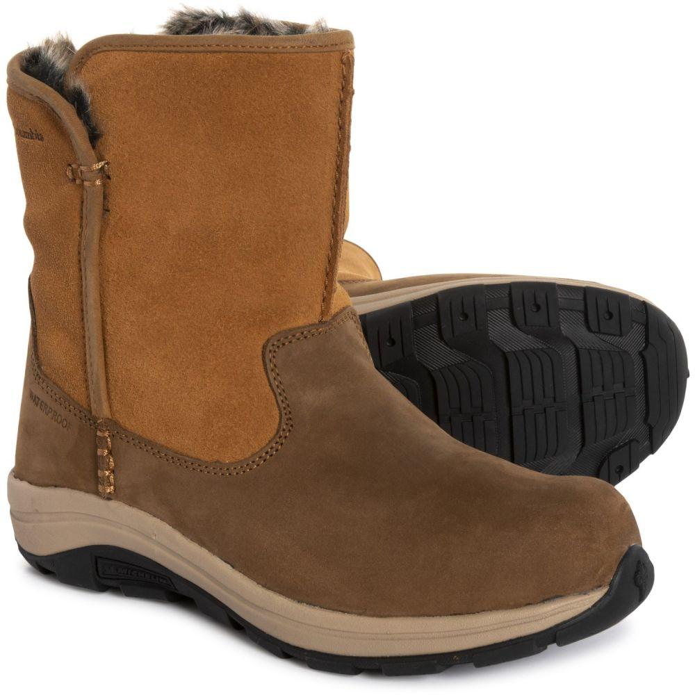 コロンビア Columbia Sportswear レディース シューズ・靴 ブーツ【Bangor Slip Omni-Heat Snow Boots - Waterproof, Insulated】Elk/Oxford Tan