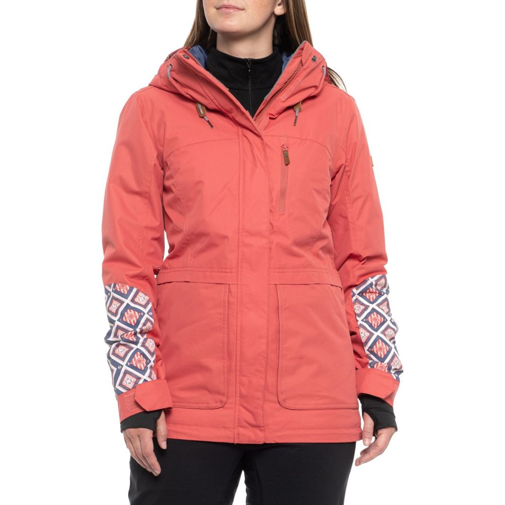 ロキシー Roxy レディース スキー・スノーボード アウター【Andie Snowboard Jacket - Waterproof, Insulated】Dusty Cedar