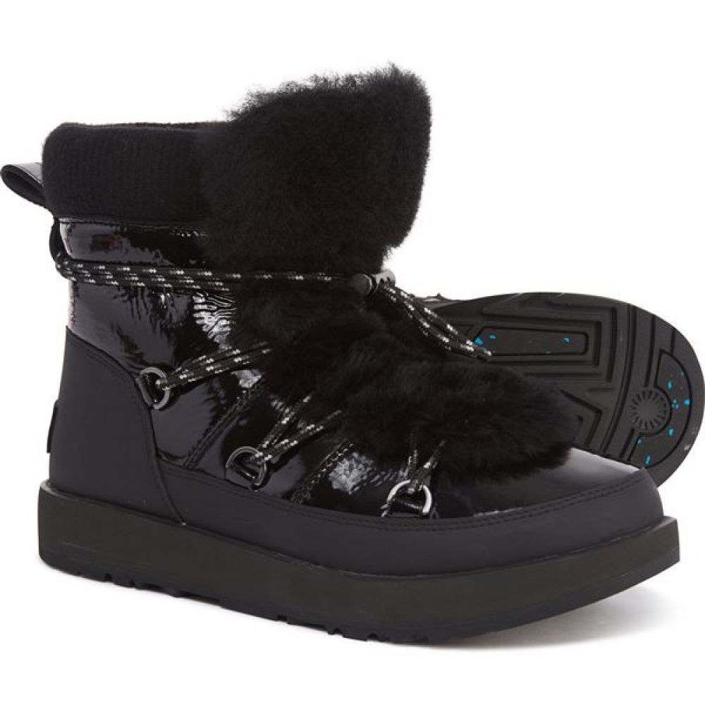 アグ UGG Australia レディース シューズ・靴 ブーツ【Highland Snow Boots - Waterproof】Black