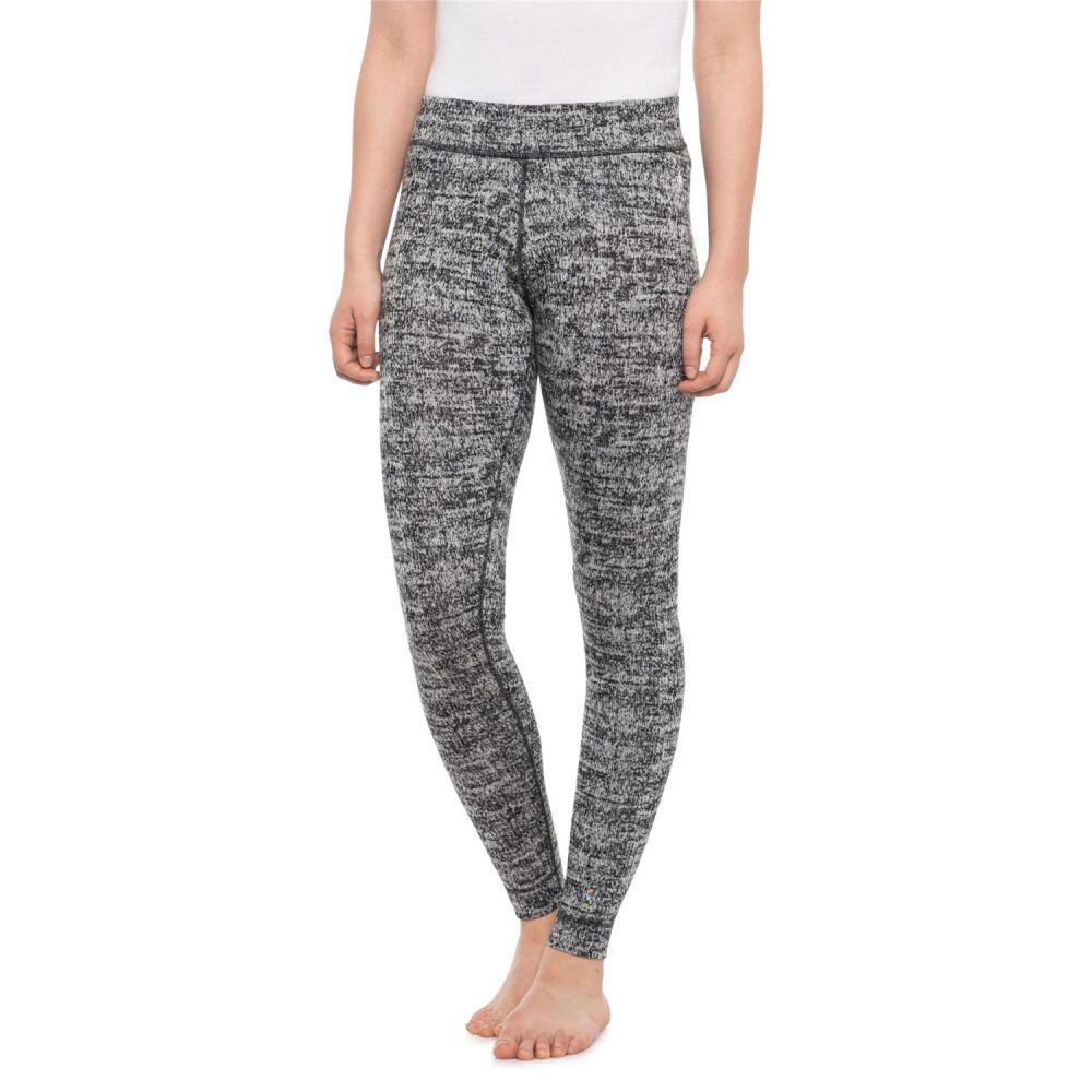 スマートウール SmartWool レディース インナー・下着 スパッツ・レギンス【Merino 250 Base Layer Pants - Merino Wool】Black/Moonbeam Heather