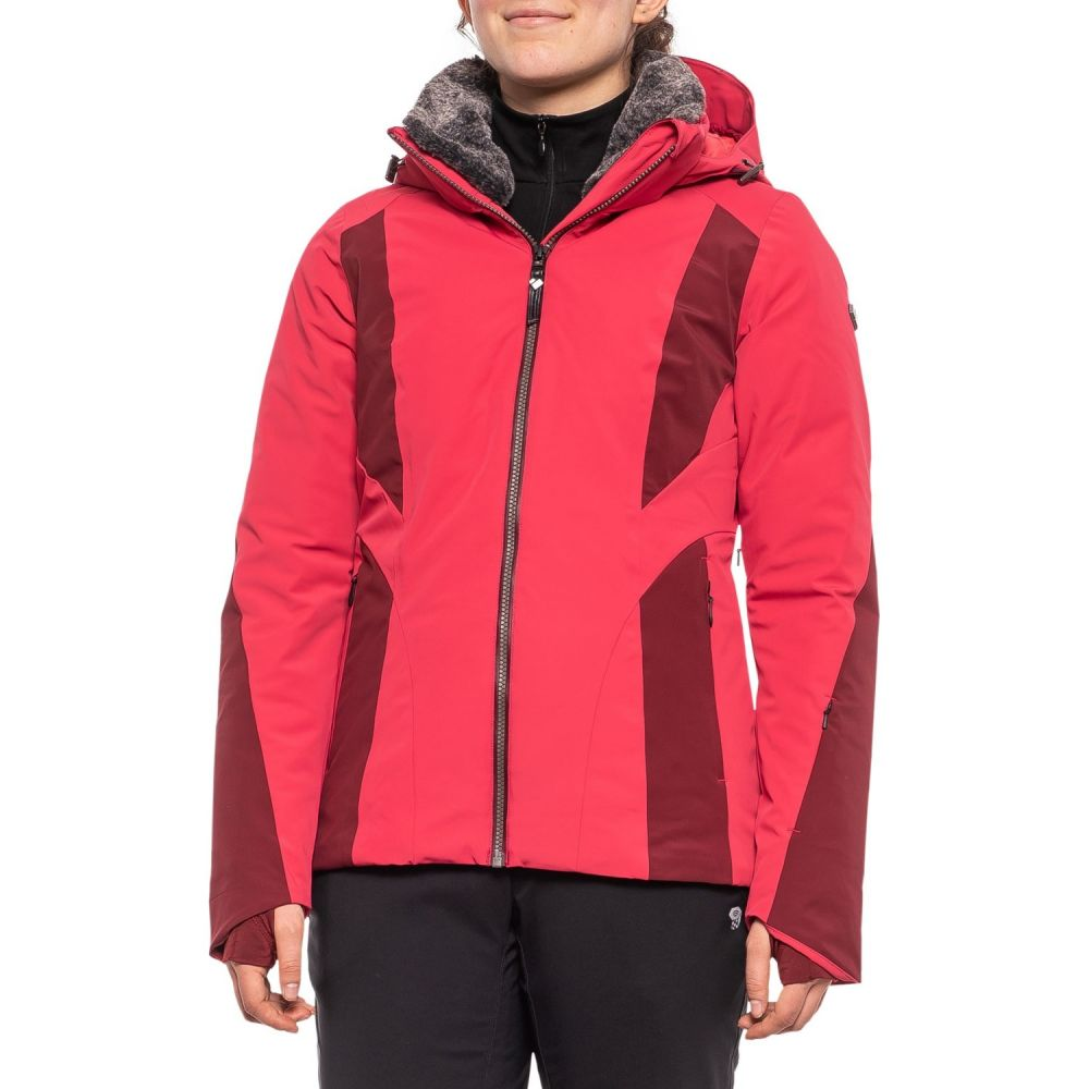 オバマイヤー Obermeyer レディース スキー・スノーボード アウター【Sola Down Ski Jacket - Waterproof, 800 Fill Power】Seduce-Me Red