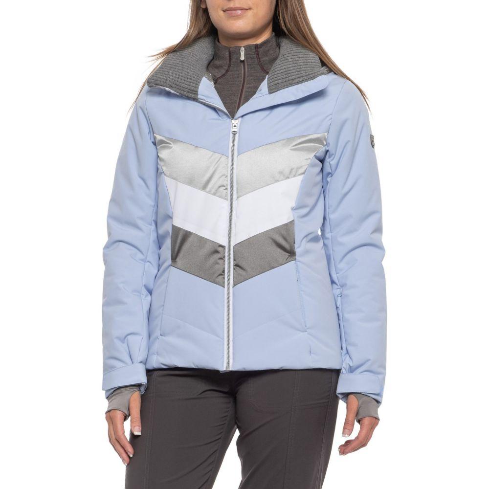 フェラ Fera レディース スキー・スノーボード アウター【Arya Ski Jacket - Insulated】Sky/Silver