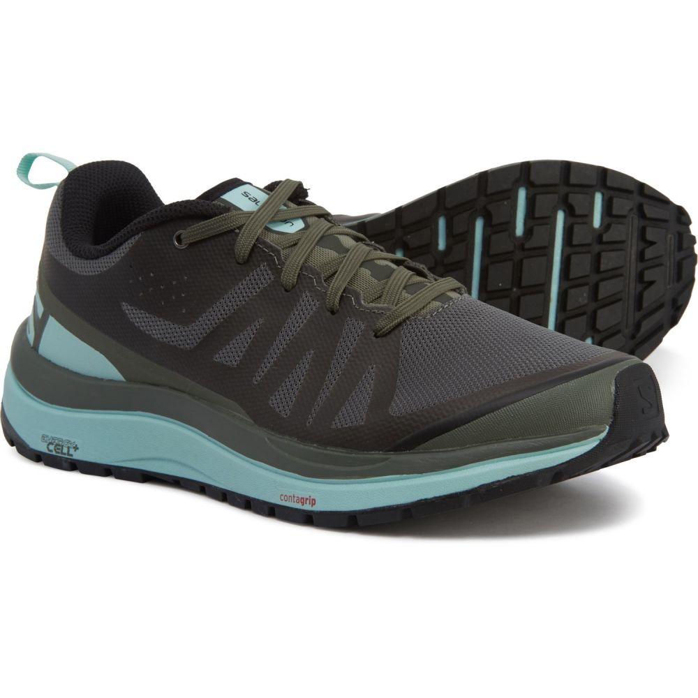 サロモン Salomon レディース ハイキング・登山 シューズ・靴【Odyssey Pro Hiking Shoes】Castor Gray/Eggshell
