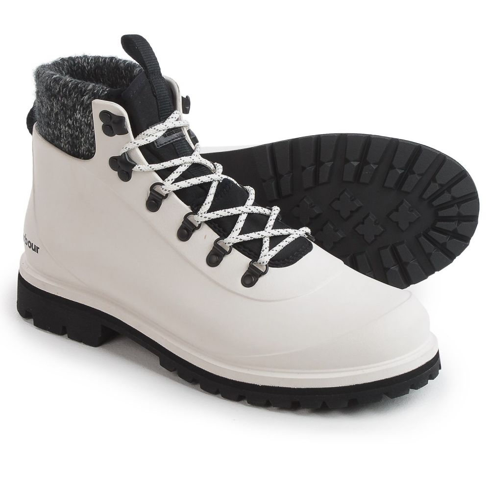 バブアー Barbour メンズ ハイキング・登山 ブーツ シューズ・靴【Zed Hiker Cold Weather Boots - Waterproof】White