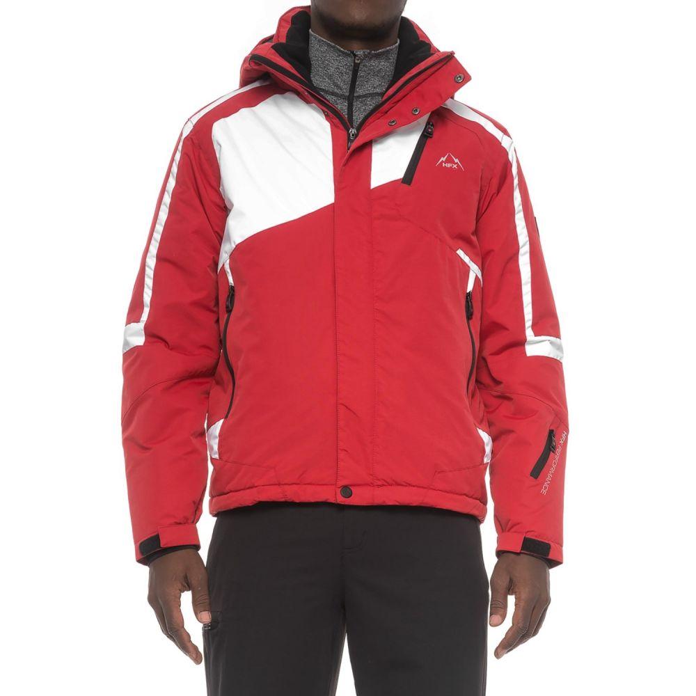 HFX メンズ スキー・スノーボード ジャケット アウター【Color-Block Racer Ski Jacket - Insulated】Red