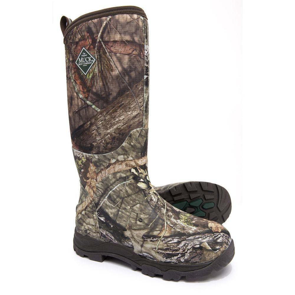 マックブーツカンパニー Muck Boot Company メンズ ブーツ シューズ・靴【Woody Plus Tall Hunting Boots - Waterproof, Insulated】Mossy Oak/Mossy Oak