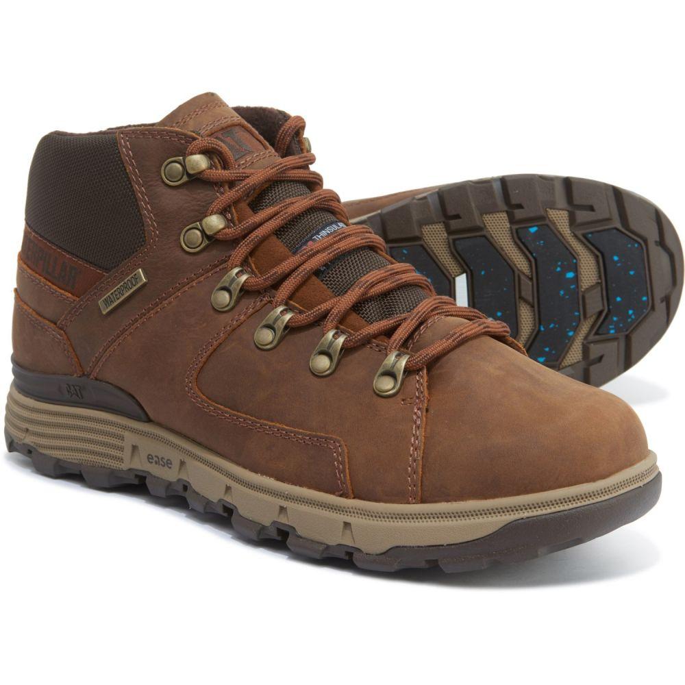 キャピタラー カジュアル Caterpillar メンズ ハイキング・登山 ウインターブーツ ブーツ シューズ・靴【Stiction Thinsulate Hiker Ice Winter Boots - Waterproof, Insulated】Brown Sugar