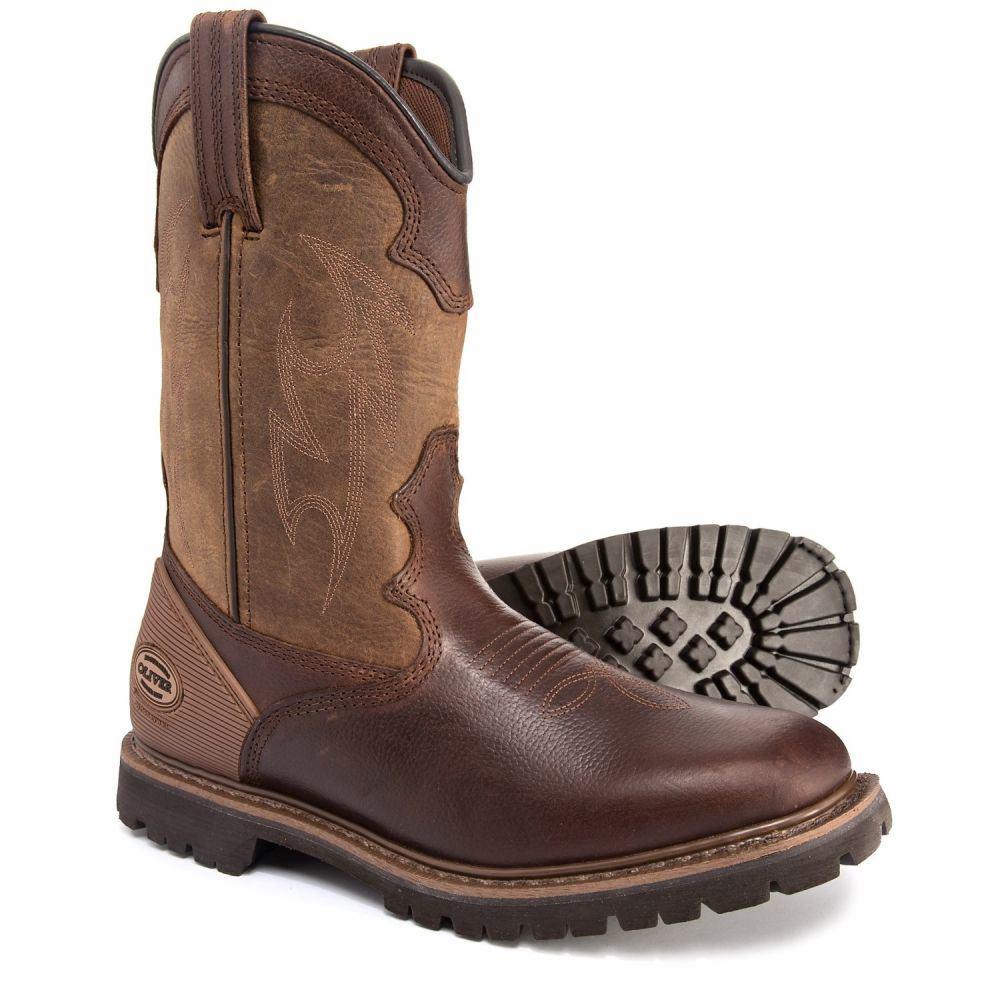 オリバーピープルズ Oliver メンズ ブーツ ウェスタンブーツ ワークブーツ シューズ・靴【Western Style Plain Toe Work Boots - Leather】Brown