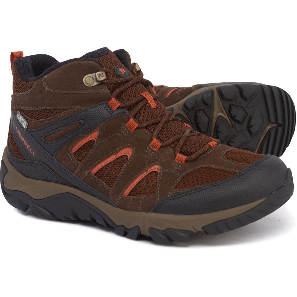 メレル Merrell メンズ ハイキング・登山 ブーツ シューズ・靴【Outmost Mid Ventilator Hiking Boots - Waterproof】Slate Black