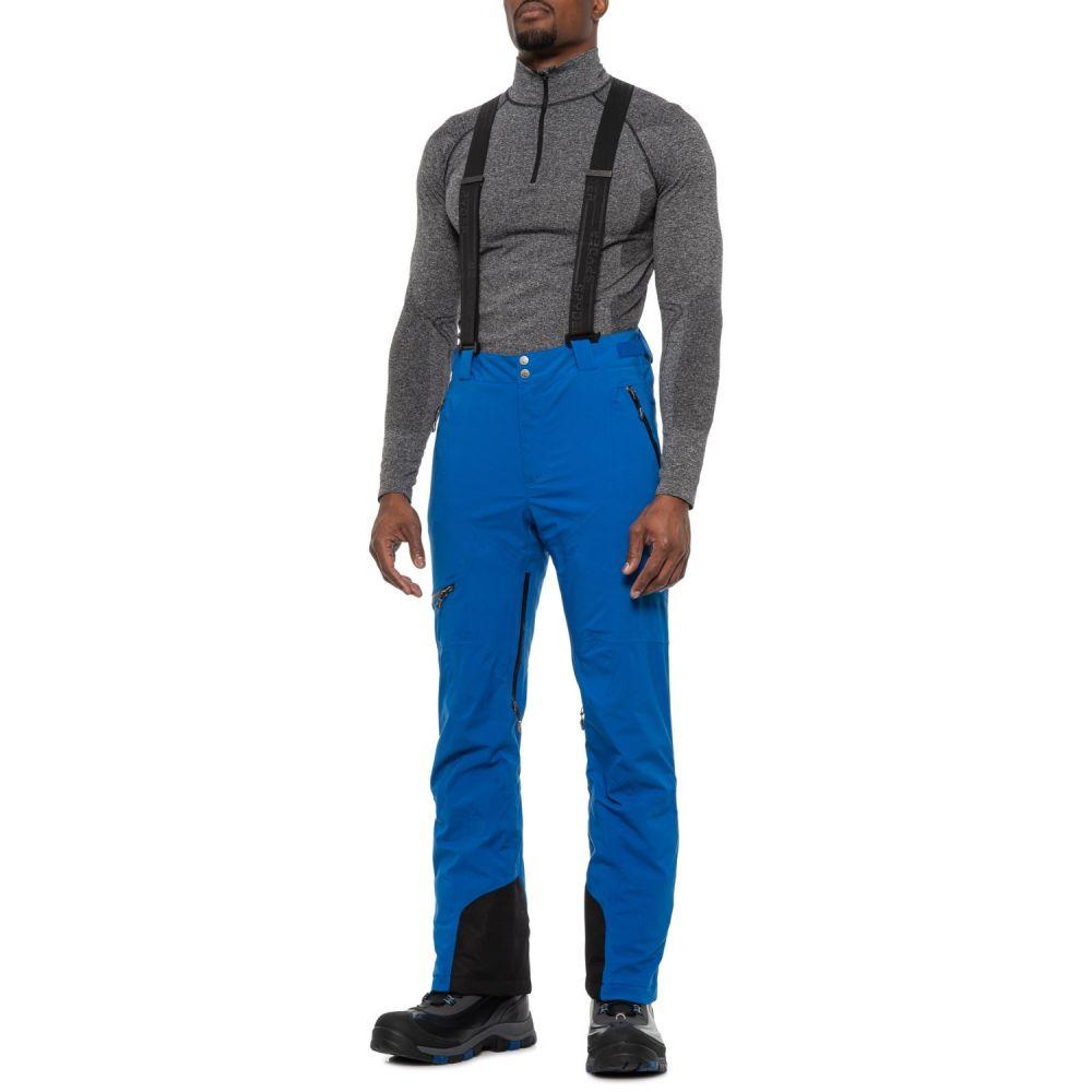 スパイダー Spyder メンズ スキー・スノーボード ボトムス・パンツ【Propulsion Gore-Tex Thinsulate Ski Pants - Waterproof, Insulated】Turkish Sea/Black