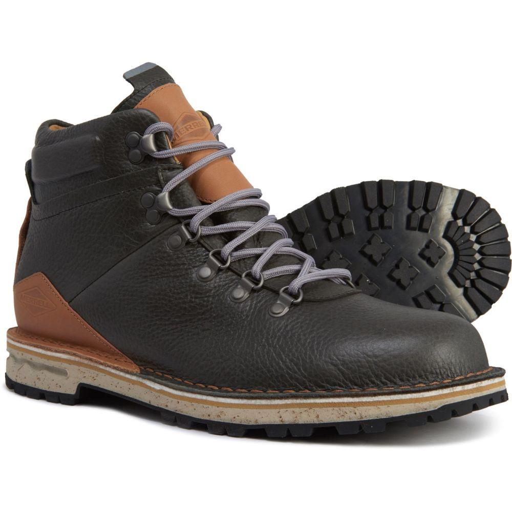 メレル Merrell メンズ ハイキング・登山 ブーツ シューズ・靴【Sugarbush Hiking Boots - Waterproof, Leather】Granite