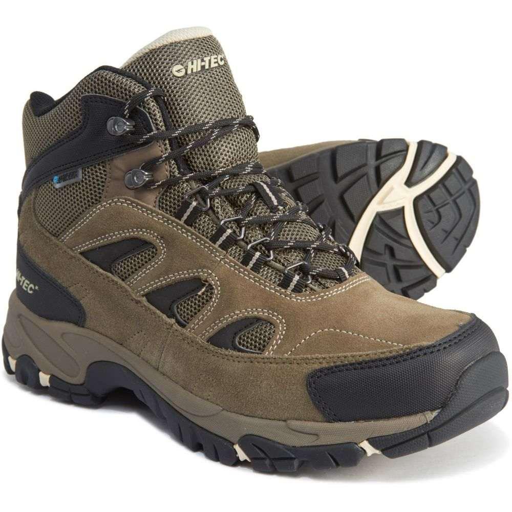ハイテック Hi-Tec メンズ ハイキング・登山 ブーツ シューズ・靴【Ramsey Hiking Boots - Waterproof】Smokey Brown/Olive/Snow